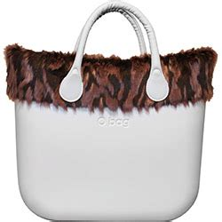 Pink Purse Speakers With Faux Fur Trim by Faux Tiger Print Fur Trim Pink An O Bag Classic Accessory