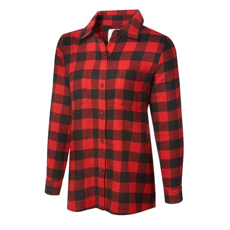 Flanel Tops brie quot brie mode quot flannel shirt us