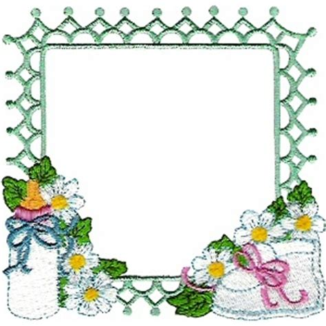 design frame baby borders frames machine embroidery designs