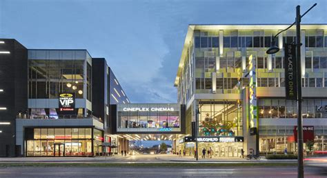 cineplex in markham cineplex markham quadrangle architects
