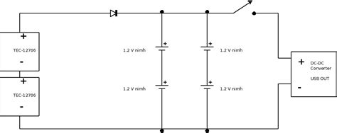 thermoelectric generator diagram thermoelectric generator circuit diagram circuit and
