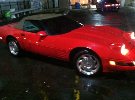 chrvrolet corvette 95 usa 60623 chicago car vehicle