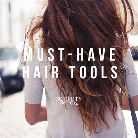 must have hair do for 2015 the sorority secrets must have hair tools