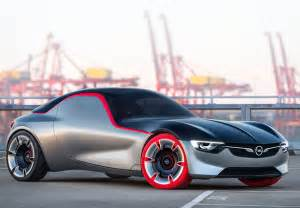 Opel Cars Opel Gt Concept Car Features Panorama Glass Roof And