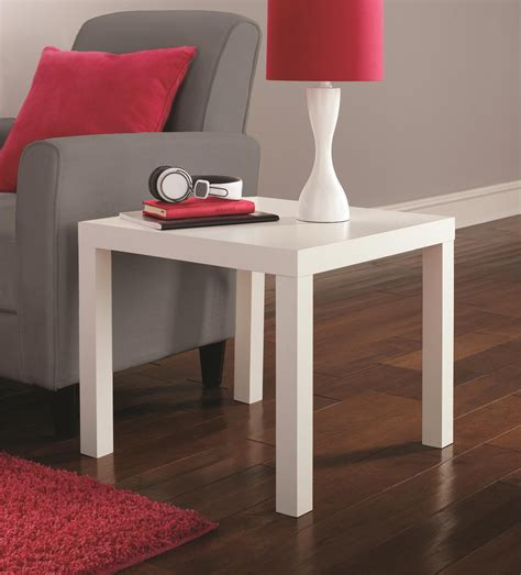 dhp parsons modern coffee table save 25 dhp parsons end table white