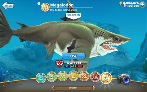 aptoide hungry shark world mod hungry shark world v1 0 6 a lot of coins and gems