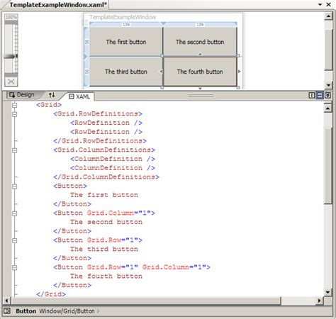 xaml layout basics wpf tutorial controls and layout