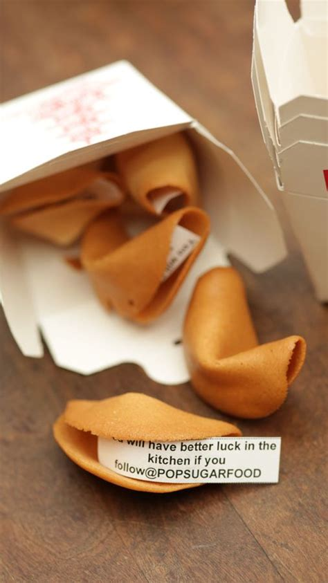 Handmade Fortune Cookies - fortune cookies recipe shape and