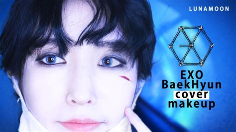 tutorial eyeliner baekhyun 엑소 백현 메이크업 monster ver exo k baekhyun makeup tutorial