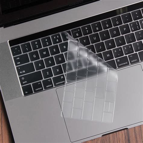 silicone keyboard cover for macbook pro 2016 with touchbar transparent jakartanotebook