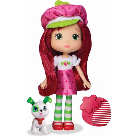 strawberry shortcake 6 fashion doll with pet lemon meringue doll with henna walmart