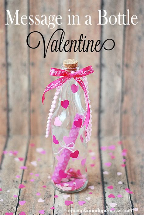 message in a bottle valentines gift ideas for valentines day its overflowing simply