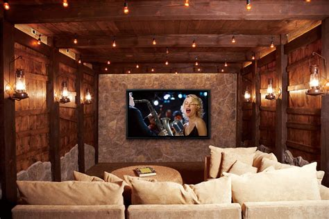 home theater design ta awesome idea for a theater room mostly the lanterns and