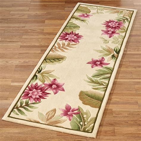 Pink Runner Rug Rugs Curtains Wonderful Pink Floral Area Rug Runner For Charming Entryway Floor Decor