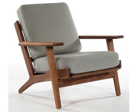 Wood Living Room Chair 2018 Hans Wegner Armchair Living Room Chair Modern Design Chair Wood Frame Fabric Cushion Solid