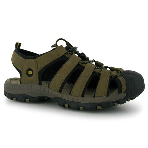 covered toe sandals karrimor mens gents ithaca leather sandals open shoes