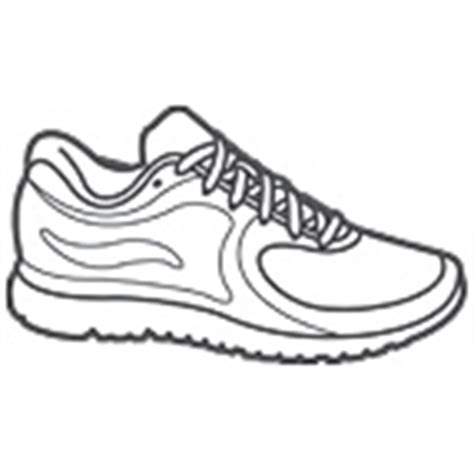 how to draw running shoes running shoes drawing clipart panda free clipart images