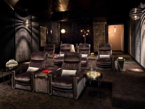 stylish comfortable home theater kari whitman hgtv