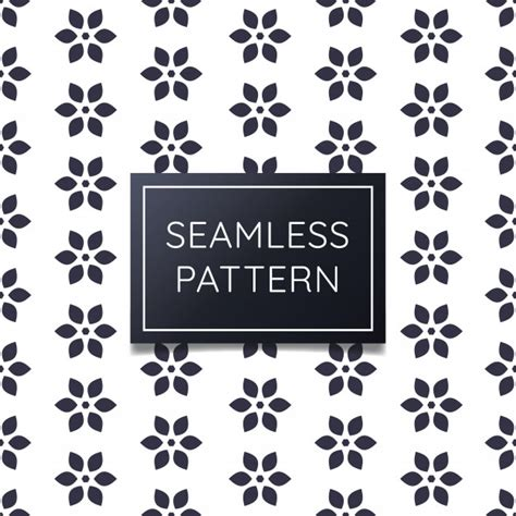 geometric seamless patterns pack vector premium download simple and clean geometric flower seamless pattern
