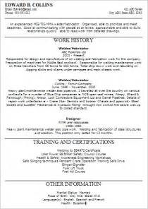 Asbestos Worker Sle Resume by Aluminum Tig Welder Cover Letter Resume Templates