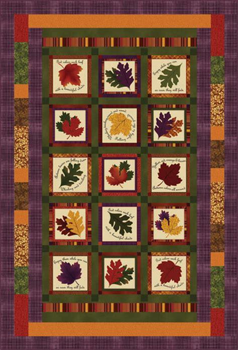 Benartex Quilt Kits by Leaf Notes Quilt Kit Benartex Missouri Quilt Co