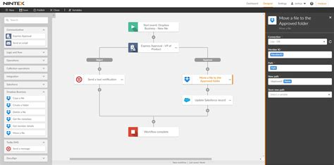 dropbox workflow nintex integration dropbox business