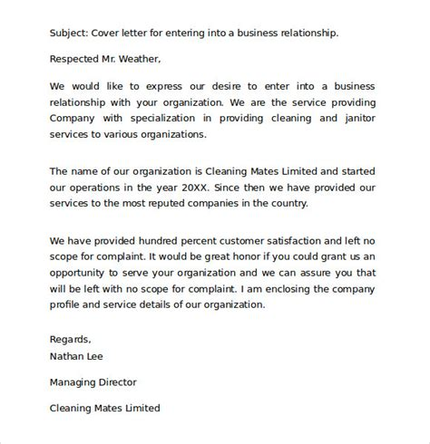 business covering letter format standard business letter format 8 free