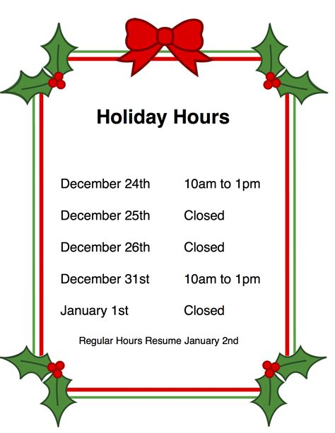 holiday hours woolaroo yarns