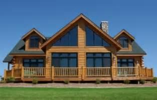 modular chalet home dickinson homes hybrid log style mancelona