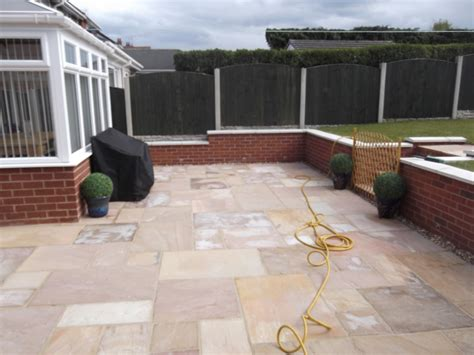 patio area rdj groundworks coedpoeth wrexham wales new