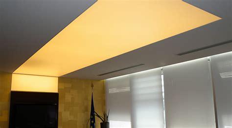 sezione controsoffitto santamaria installa zione telo barrisol soffitto teso