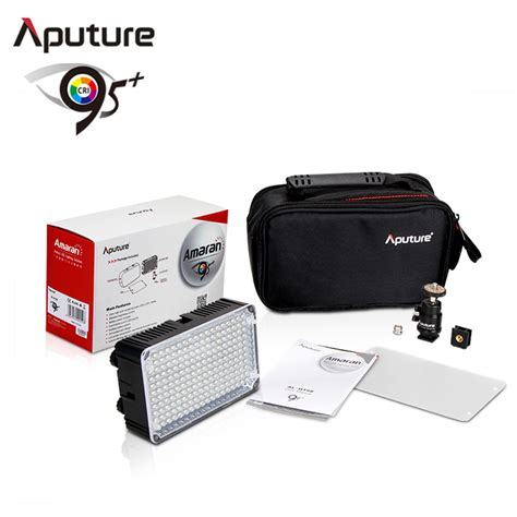 Led Flash Kamera aputure lu led flash kamera universal 198 led cri 95 al h198 black jakartanotebook