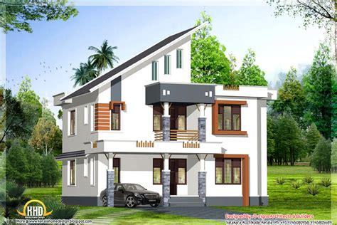 housing design exterior collections kerala home design 3d views of residential bangalows