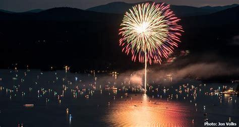 find   july fireworks   lake george ny region