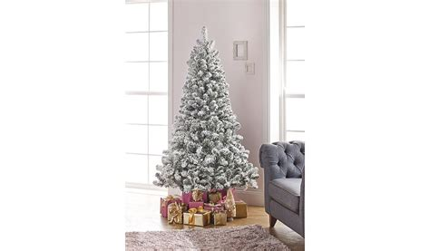 morrisons 6ft christmas tree 6ft snowy pine tree shop george