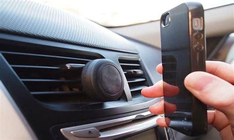 porta iphone da macchina supporto magnetico per cellulare groupon goods