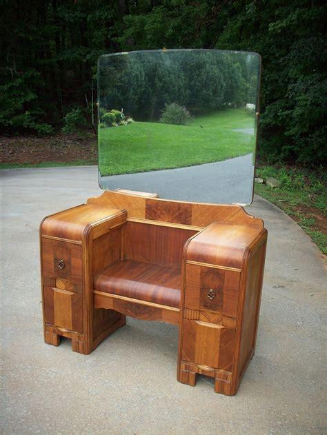 antique waterfall vanity dresser vintage art deco waterfall antique vanity dressing chest