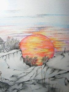 draw landscapes in colored pencil the ultimate step by step guide books 1000 ideas about landscape drawings on