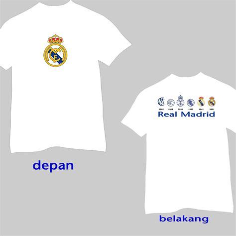 Kaos Oblong Real Madrid Los Blancos laman 2