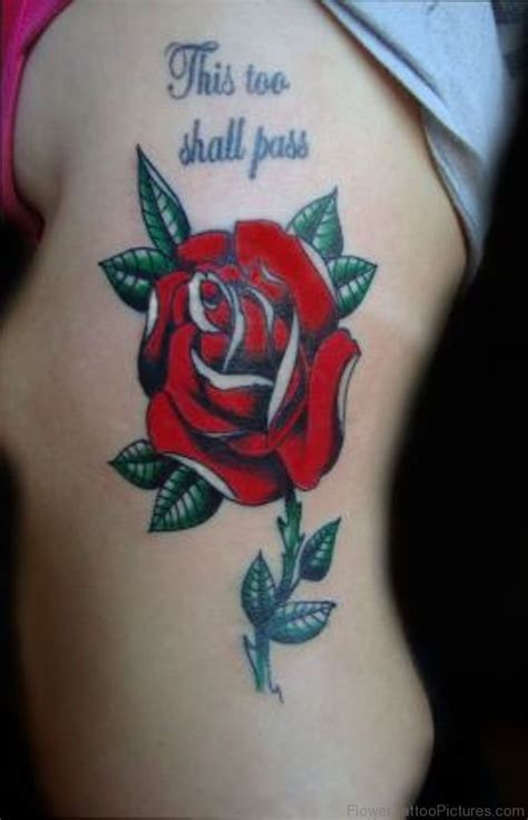 rose bud tattoo pictures 60 attractive tattoos on rib