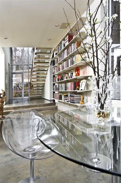 home library modern design 35 clever ideas of how to perfectly store your books at home