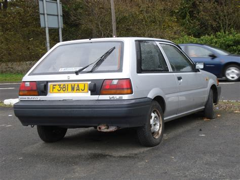 nissan sunny 1988 modified 1988 89 nissan sunny 1 4 ls strangely not coming up on