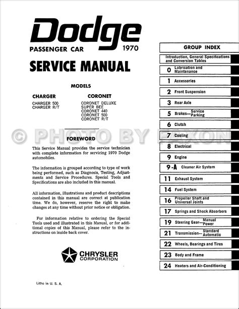 book repair manual 1970 dodge charger regenerative braking 1970 dodge charger and coronet service manual reprint