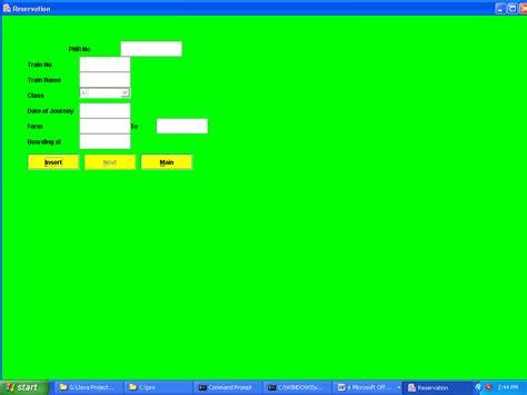 design html form for railway reservation system online reservation system project in java projectsgeek
