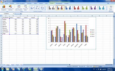 tutorial hacer graficos en excel 2010 new technology tutorial sobre graficos en excel