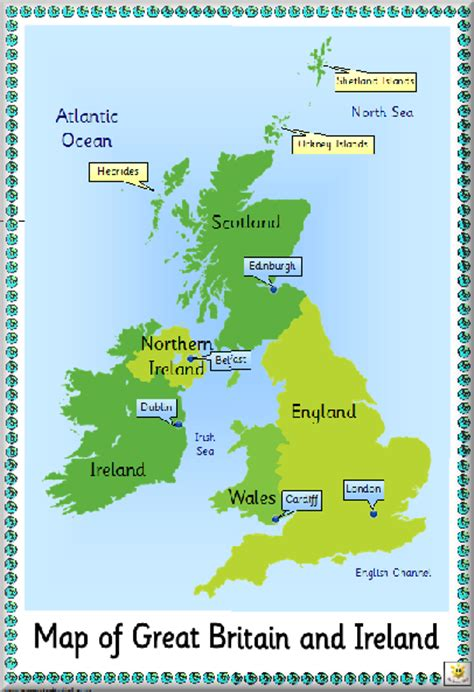 printable maps great britain pin display map of great britain and ireland click the