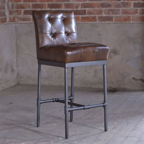 mexican bar stools leather j n rusticus nungan vintage leather bar stool furniture