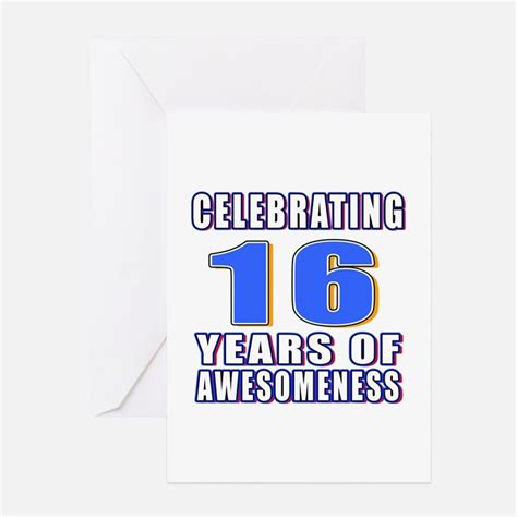 16 year birthday card template 16 year birthday greeting cards card ideas sayings
