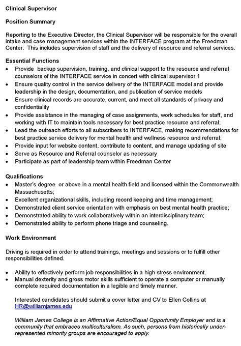 mental health counselor cover letter mental health counseling cover letter 62 images