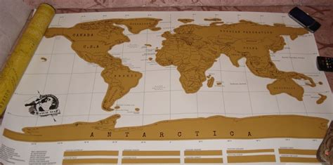 Scratch World Wall Map the scratch map i received how ornament my